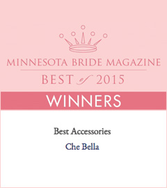 Che Bella wins Minnesota Bride Best Of 2015 award