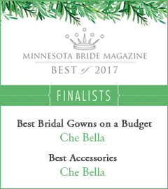 Che Bella nominated for two Minnesota Bride Best Of 2017 awards