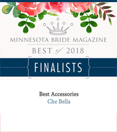 Che Bella has won Best Accessories of 2018 from Minnesota Bride