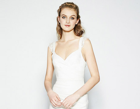 Nicole Miller bridal gowns.